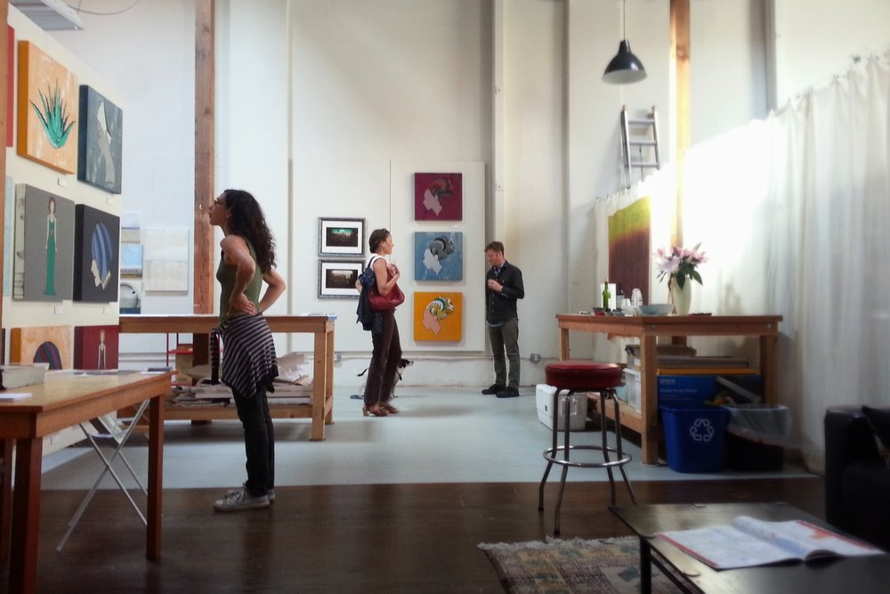 East Bay Open Studios 2015