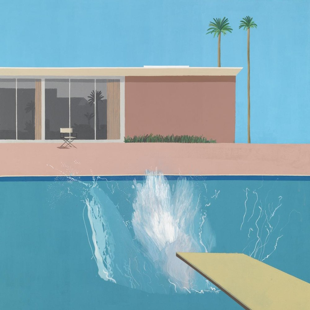 David Hockney  via The Tate