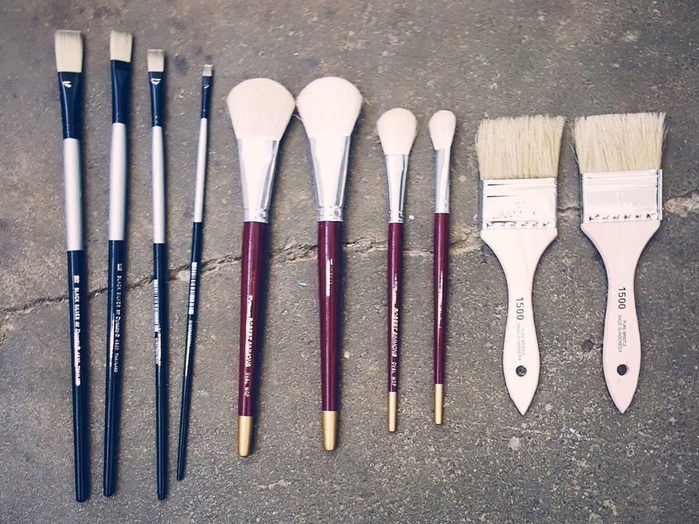 Brushes in the Studio.jpeg