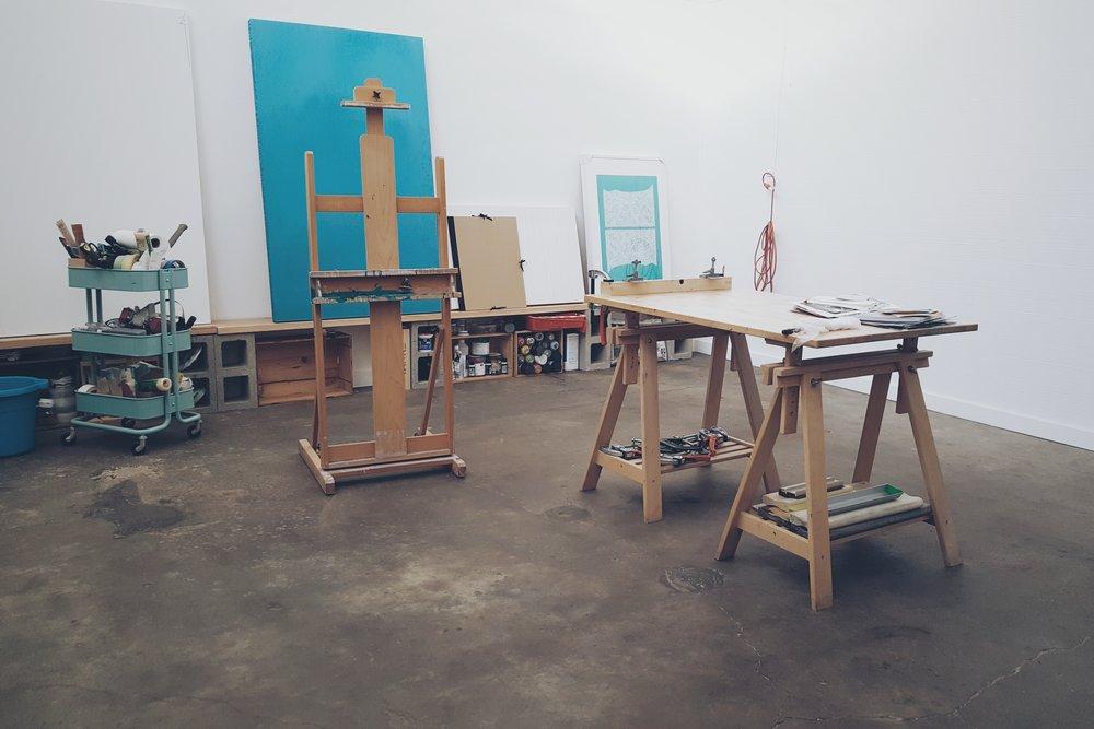 Summer Romasco Studio Easel