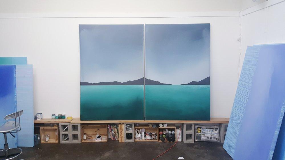 Summer Romasco Studio Paintings