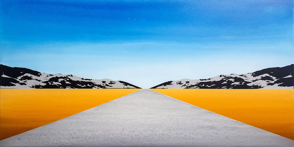 Blue Desert Horizon