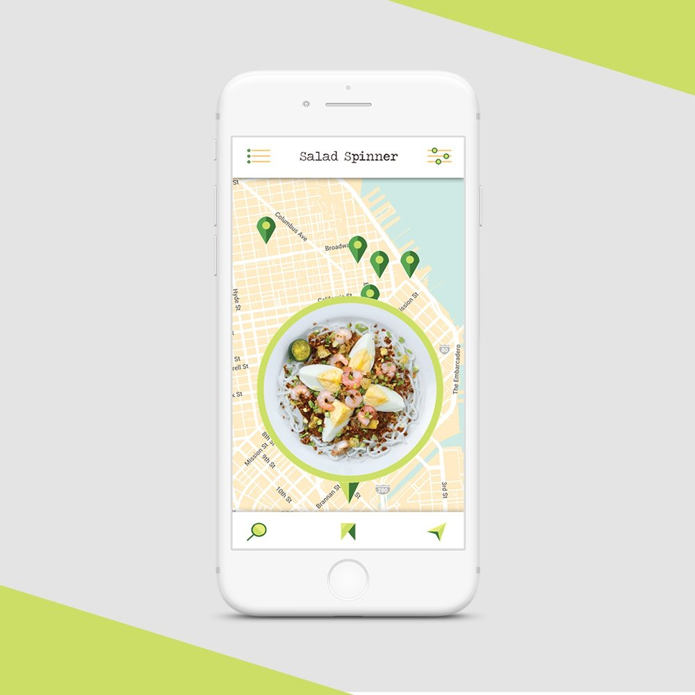 UI Design | Salad Spinner