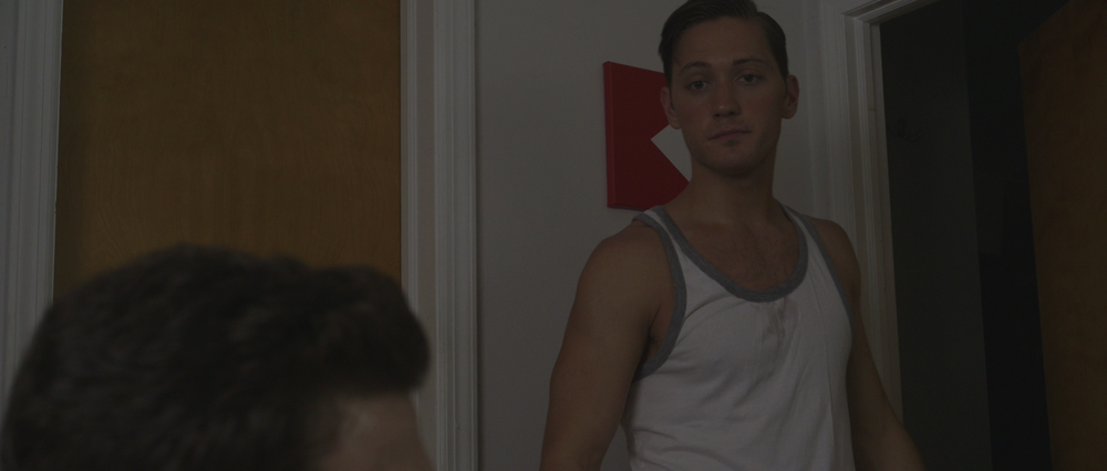 "Adam Jepsen as Chris in ""Not Our Living Room"""