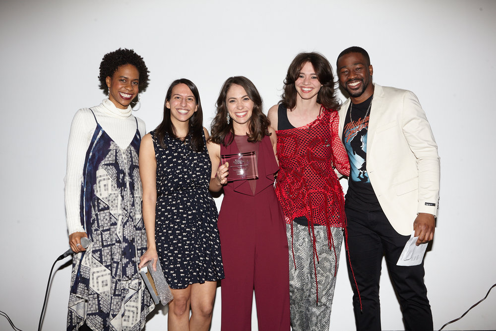 """BEST ENSEMBLE PERFORMANCE : """" Chocolates """" (Patricia Selznick & Ford) - Wins $50 towards a  Seed&Spark  campaign and script coverage from the CongestedCat team of one future short screenplay."""