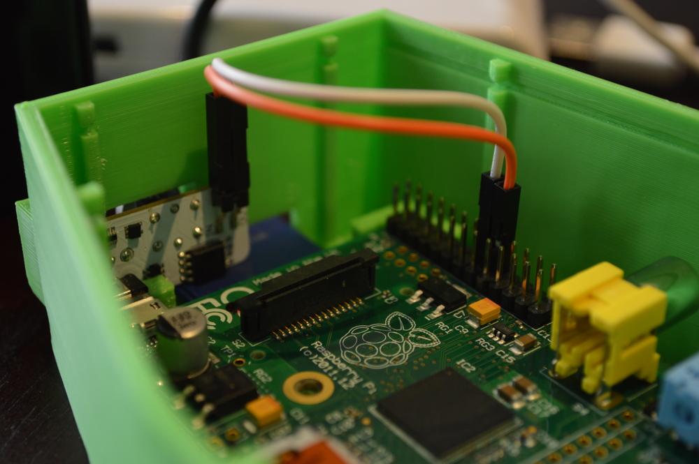 Raspberry Pi in a Case.JPG