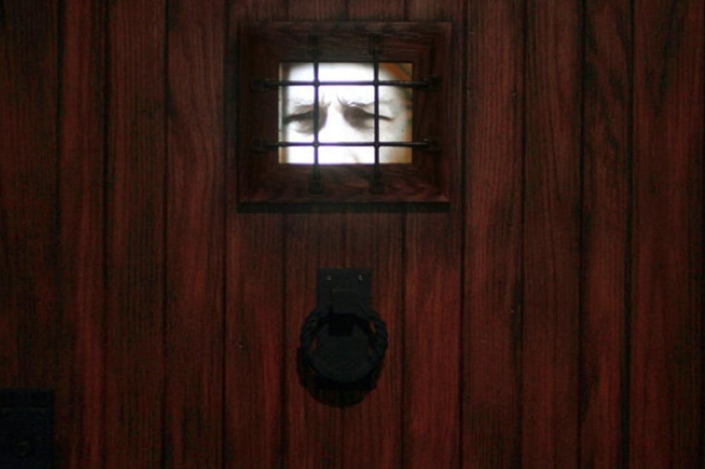 Speakeasy Door National Constitution Center