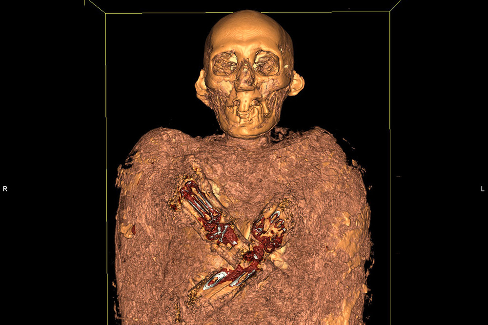Mummy Scanner Las Vegas Natural History Museum