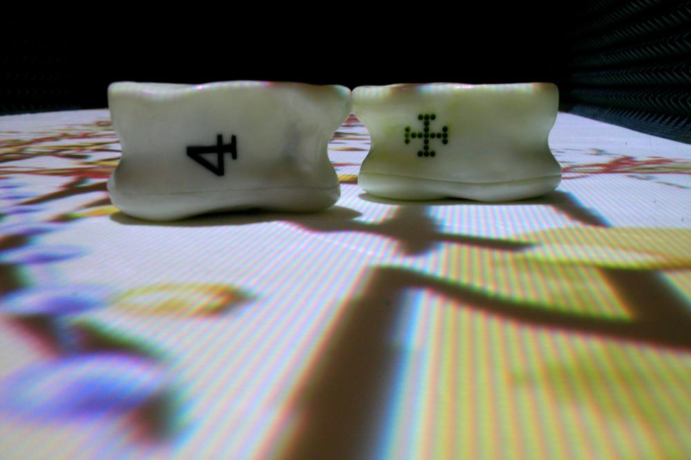 Interactive dice
