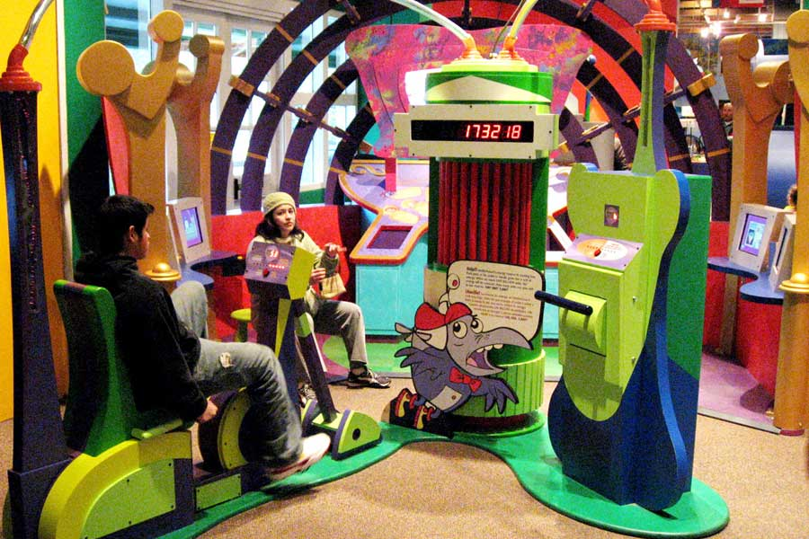 Cyberchase and Crack Codes Children's Museum of Houston
