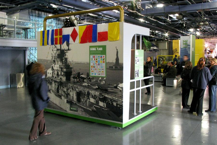 Ship's Communication station