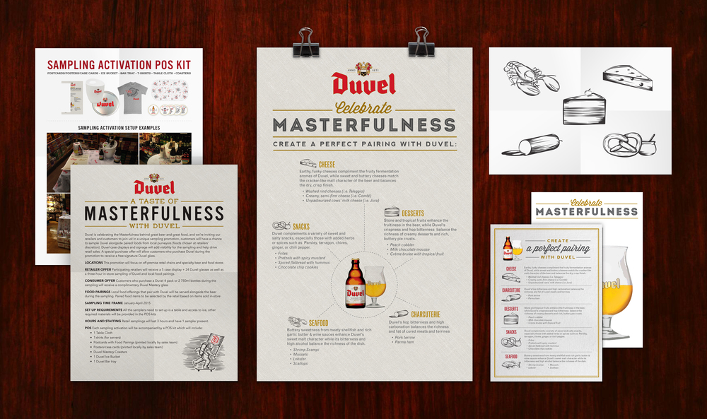 Duvel Mastery Sampling