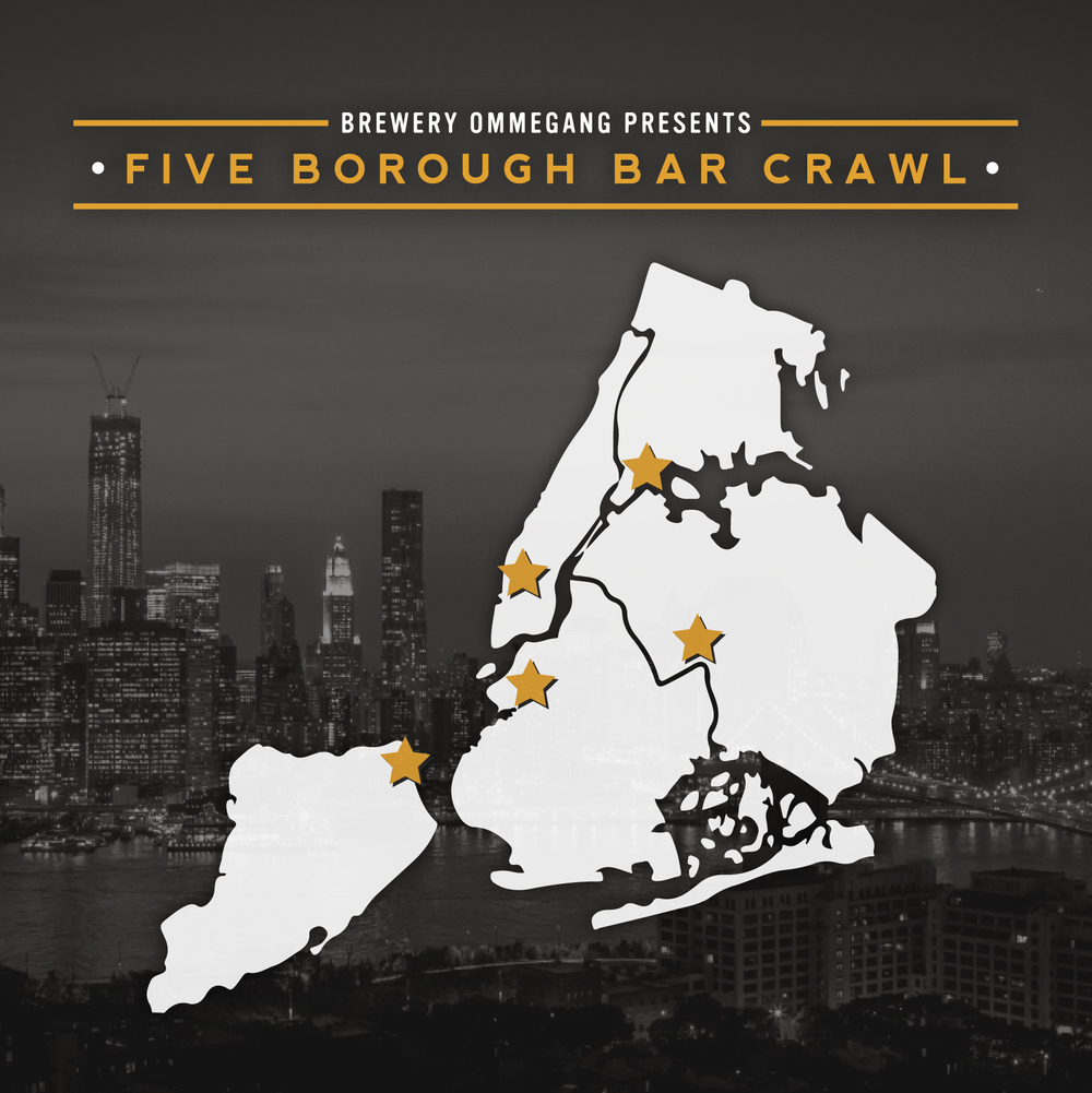Five Borough Bar Crawl