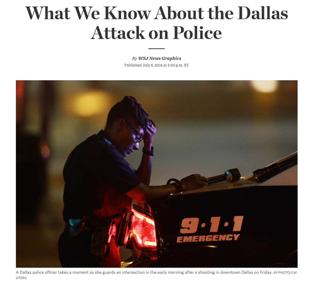 What We Know About the Dallas Attack on Police