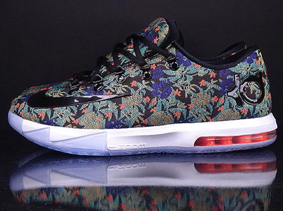 "Nike KD VI EXT QS ""Floral"" 1"