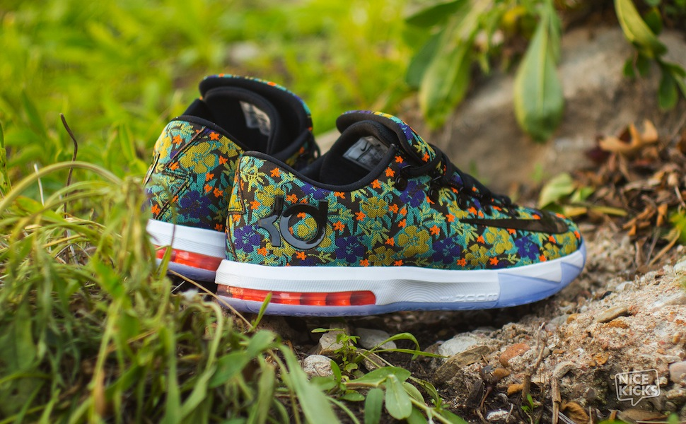 "Nike KD VI EXT QS ""Floral"" 5"