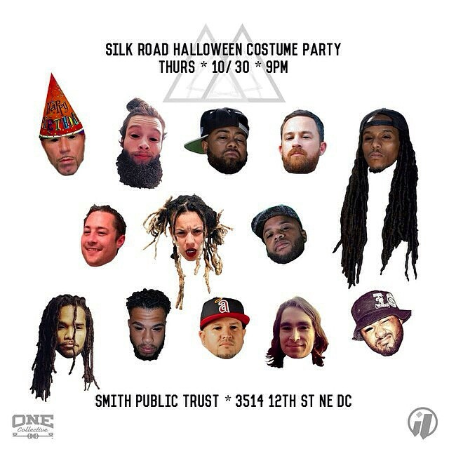 Silk Road Halloween Party