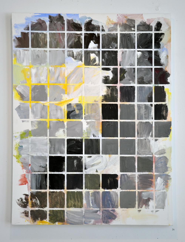 """Clouded Light,  Acrylic on Canvas, 36 x 48"""""""