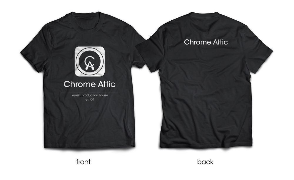Chrome attic t shirt 2 views.jpg
