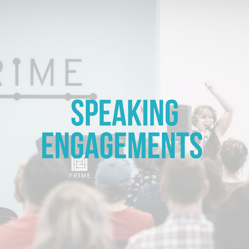 Speaking Engagements