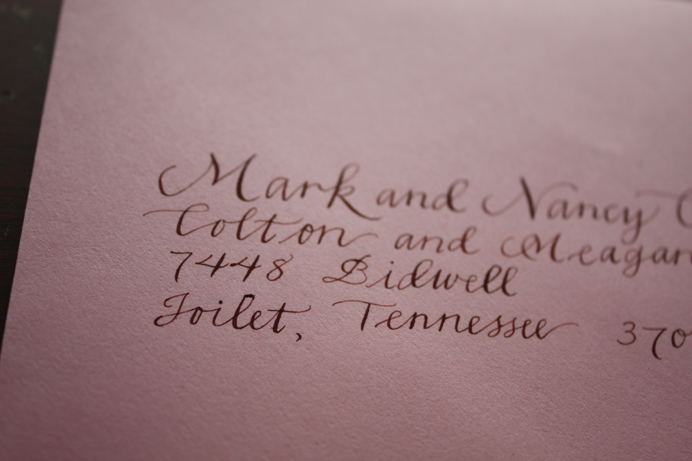 Hawthorne | Bluestocking Calligraphy