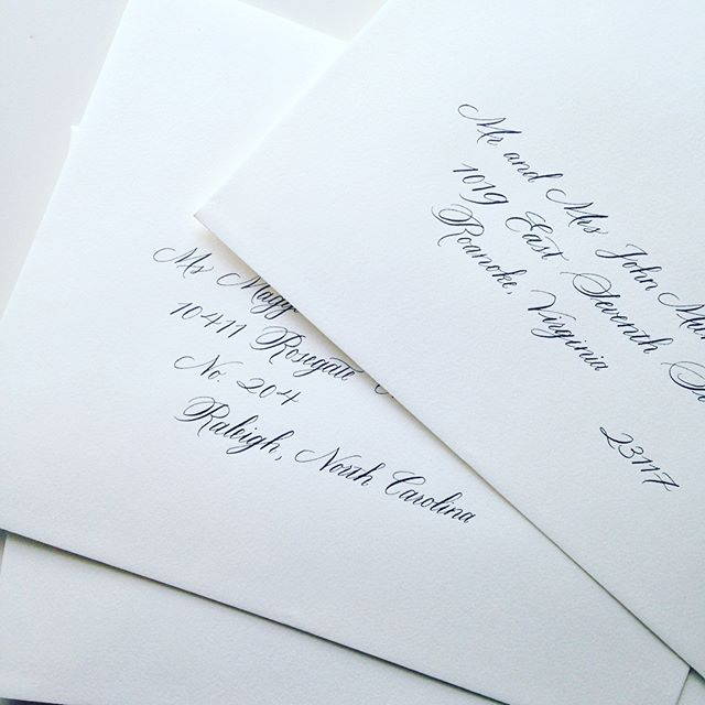 No complaints when classics are on the docket. #calligraphy #moderncalligraphy #weddingcalligraphy #calligrapher #classic