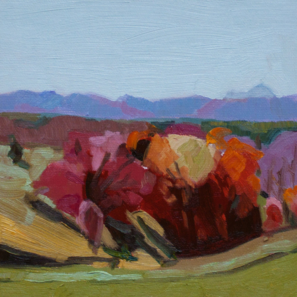"Appalachian Fall 5 • 6"" x 6"""