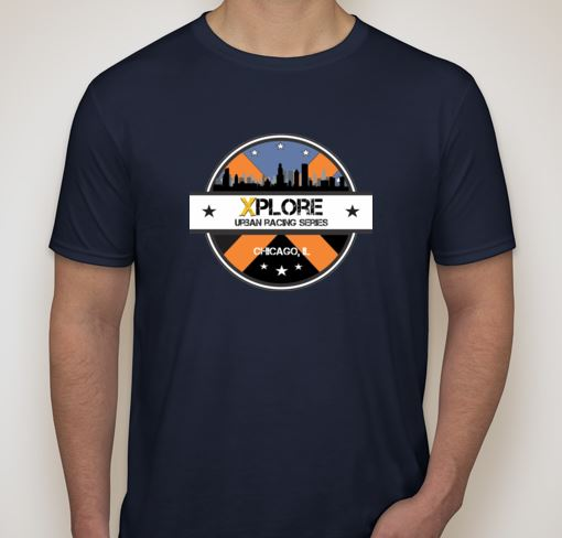 XPLORE Chicago Racing Jersey-Front (All Registered Racers and Volunteers Receive Jersey)