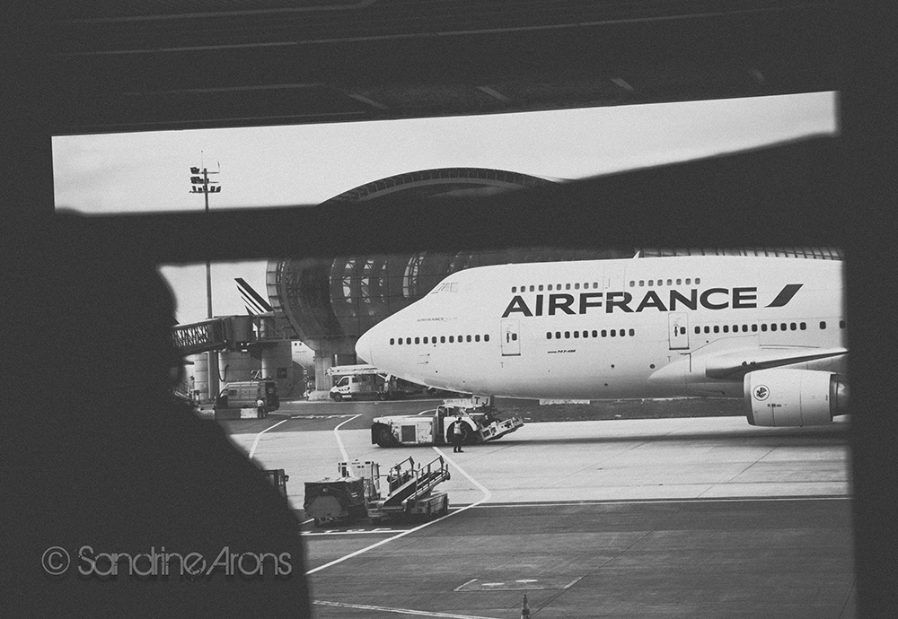 CDG Airport.