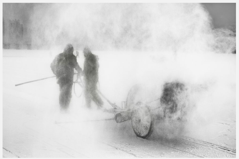 From Ice Stories, Phantoms of the Ice: Photograph by Wesley Thomas Wong