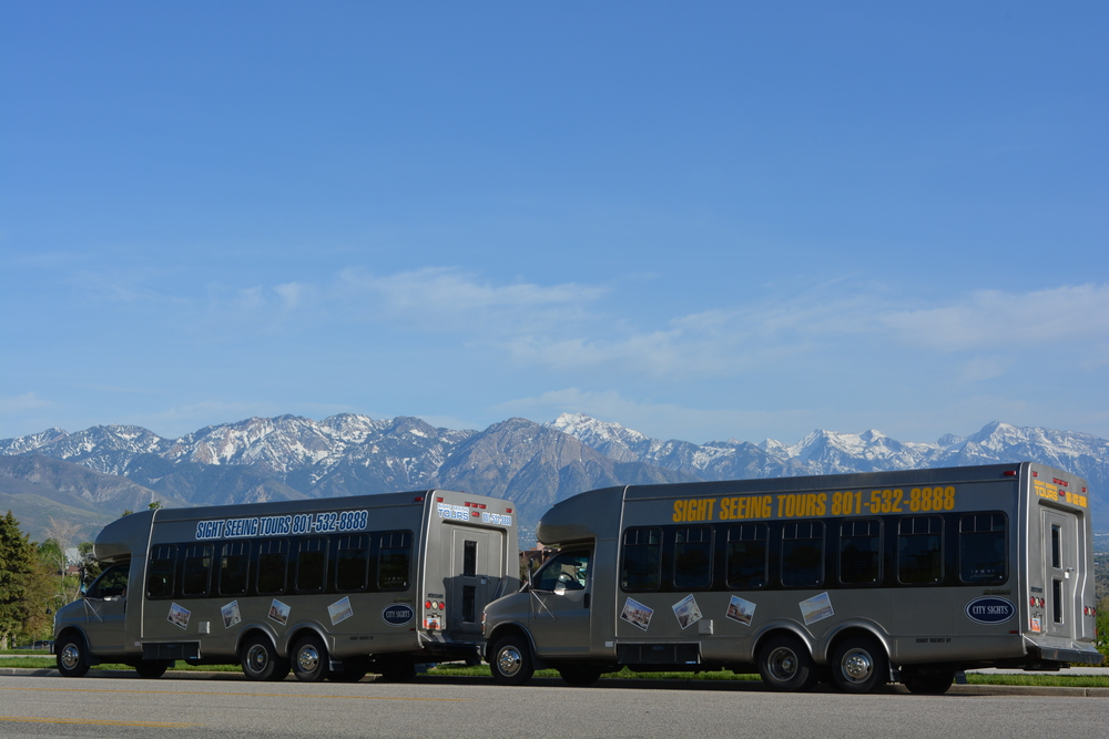 Salt Lake Tour Bus