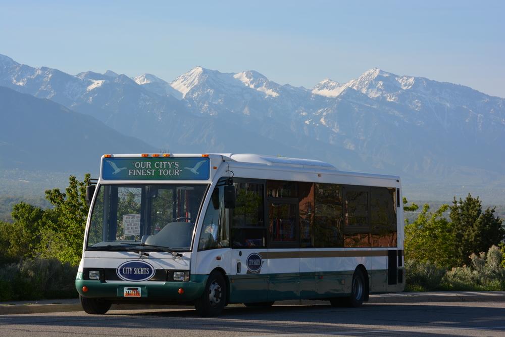Utah tour bus