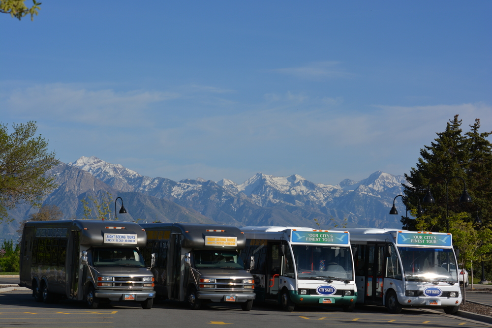 Salt Lake City Tour sightseeing bus