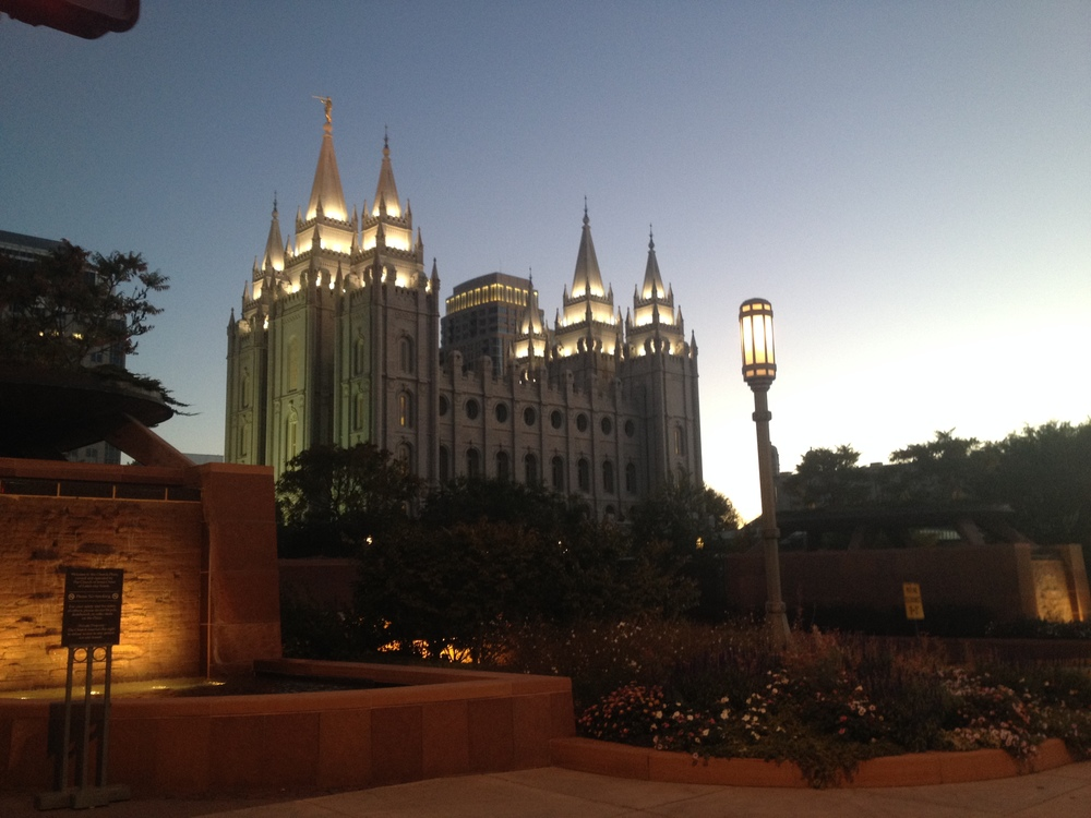 Temple Square on Mormon Tabernacle Choir Tour