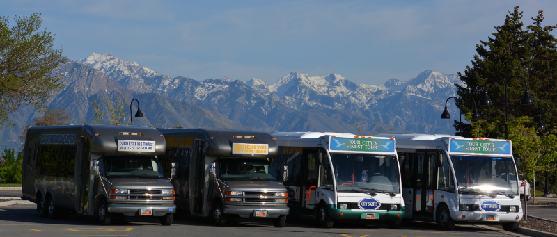 Salt Lake City group transportation bus charter