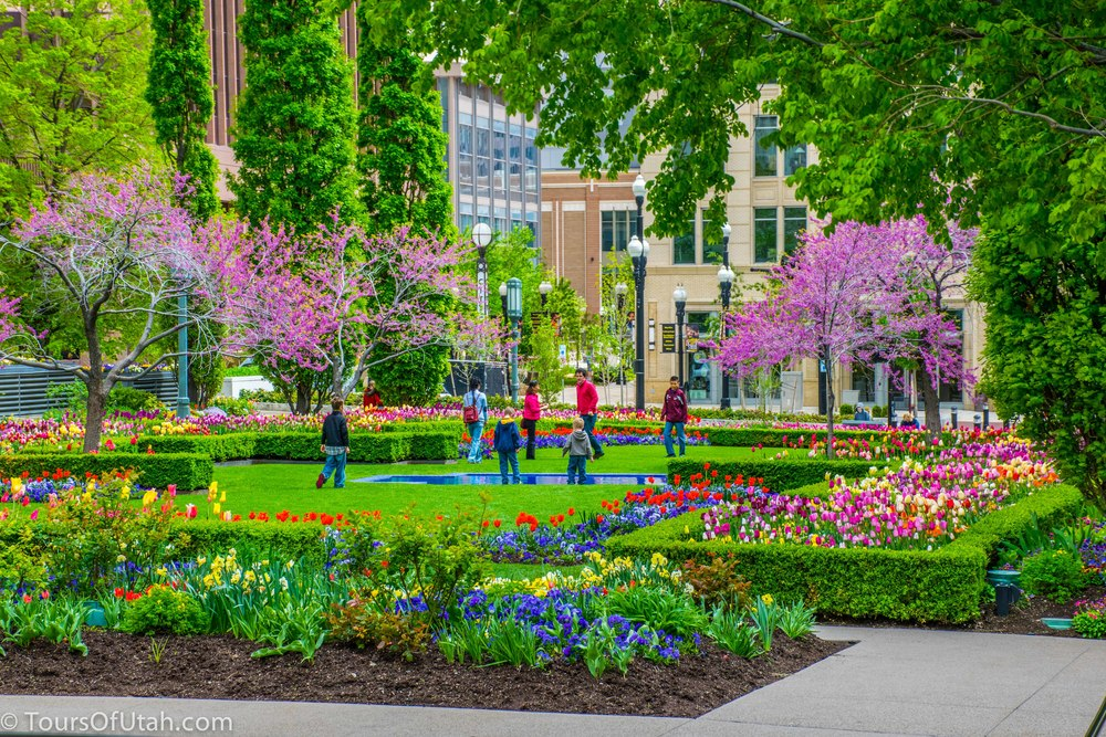 temple square gardens things to do in salt lake city sightseeing tours of salt lake city