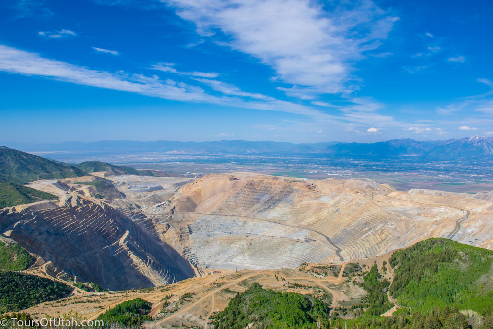 Kennecott Utah Copper Mine Visitors