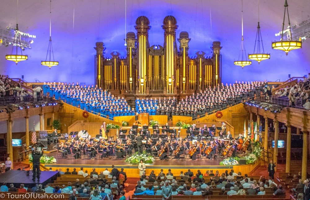 MORMON TABERNACLE CHOIR + DELUXE CITY TOUR — Sightseeing ...