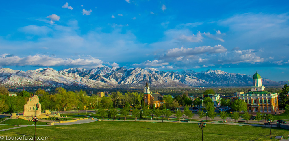 Sightseeing bus tours in Salt Lake City