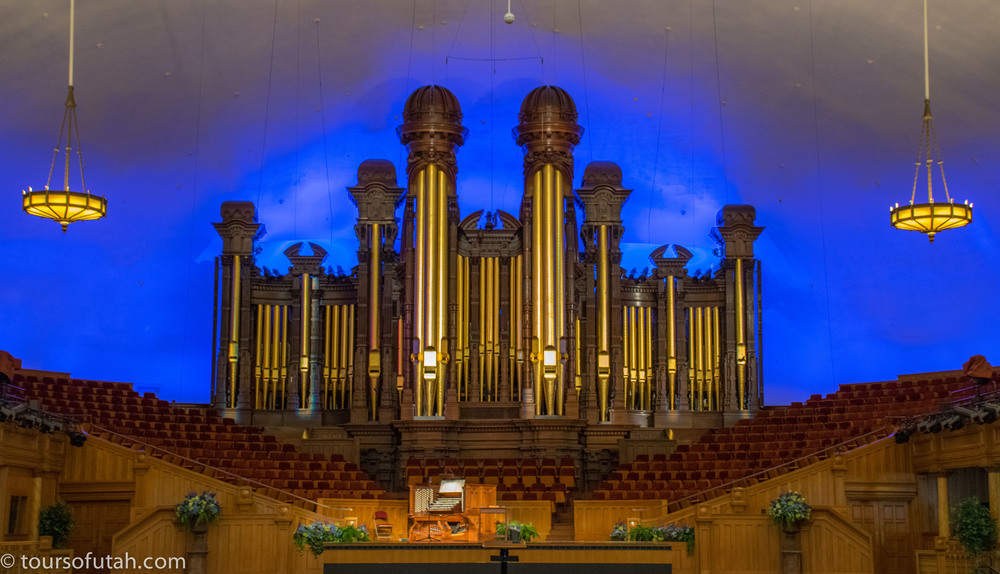 Salt Lake Mormon Tabernacle Organ Recital on Salt Lake City Tour