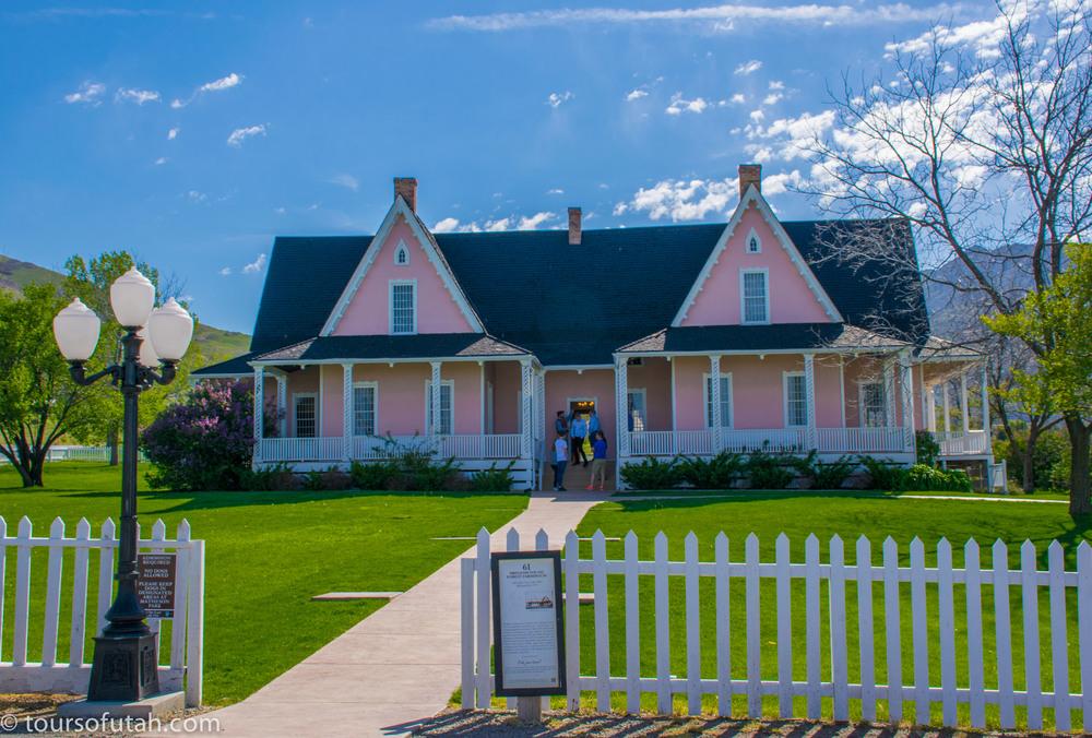 Brigham Home - Salt Lake City Tour