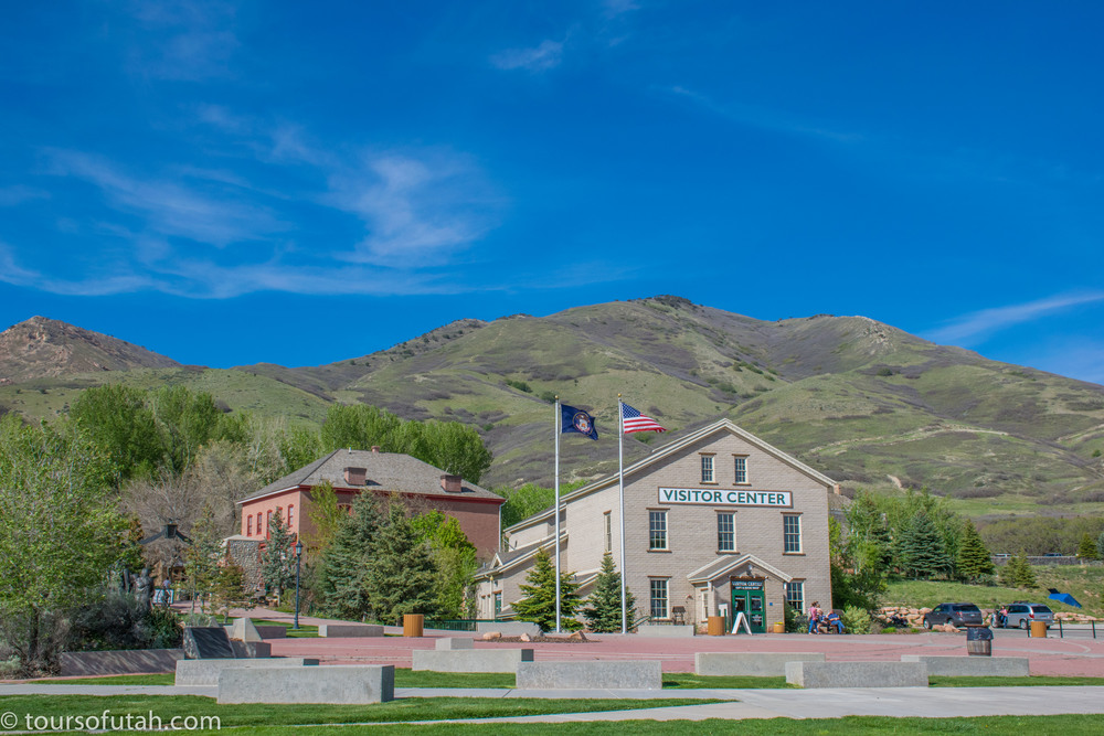 Mormon Trail Pioneer Visitors Center on Salt Lake City Tour