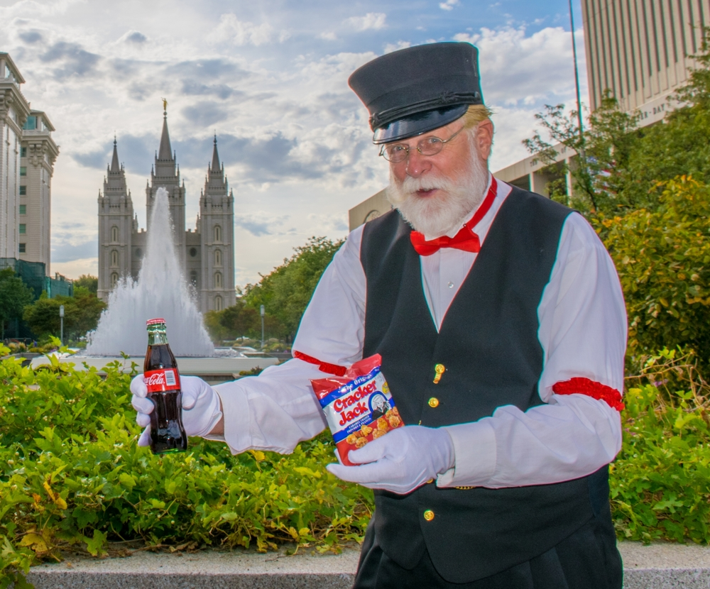 Temple Square Salt Lake Trolley Tour with trolley treats