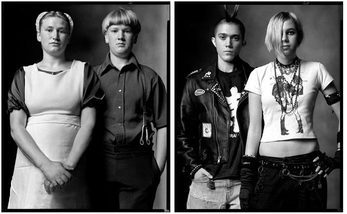 amish kids / punk kids