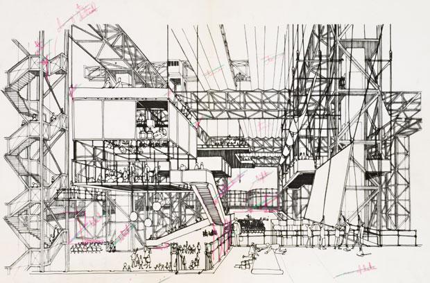 Potteries Thinkbelt, Cedric Price, English Midlands, 1965.