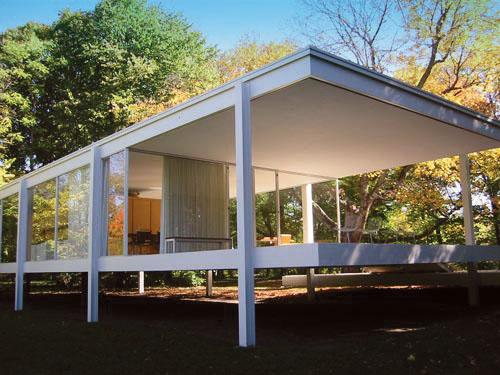 Farnsworth House, Mies, Plano, IL, 1945-1951.