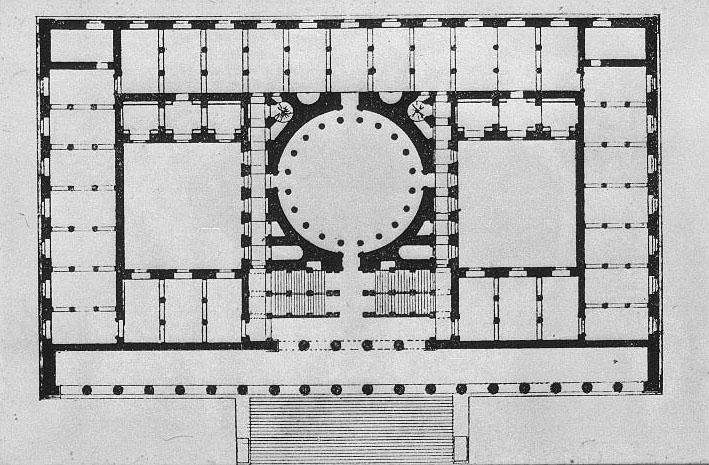 Schinkel, Altes Museum, Berlin, 1823.
