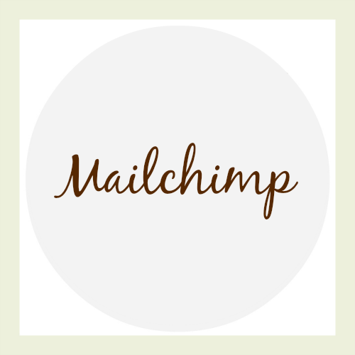 mailchimp: recommended web tool