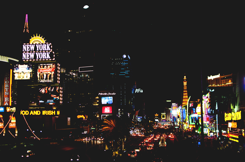 Las Vegas Strip, March 2013