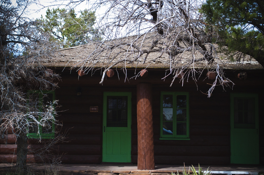 Grand Canyon Bright Angel Lodge Cabins 1 Lune Blog